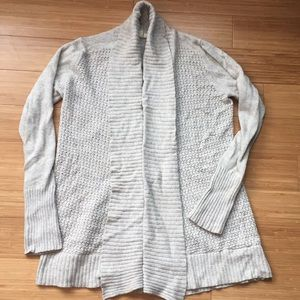 Anthropologie light grey sweater